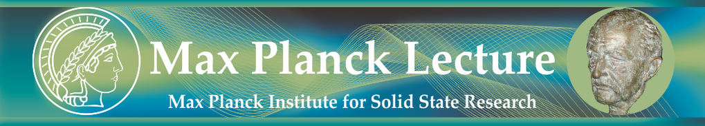 Die Max Planck Lecture