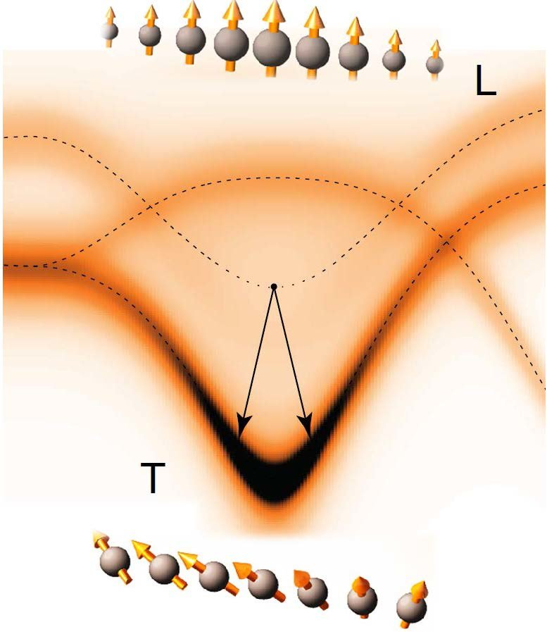 "Neutron scattering experiments on the two-dimensional antiferromagnet Ca2RuO4 revealed a well-defined, dispersive ""Higgs"" mode that modulates the amplitude of the ordered moment. The mode quickly decays into transverse spin waves at the antiferromagnetic ordering wavevector, and through a complete mapping of the transverse modes in the reciprocal space we were able to obtain a quantitative understanding of the decay process. The results establish a novel condensed matter platform for research on the dynamics of the Higgs mode."