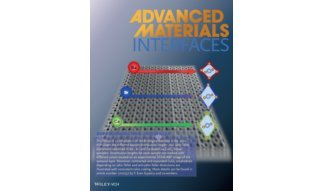 Advanced Materials Interfaces frontispiece cover